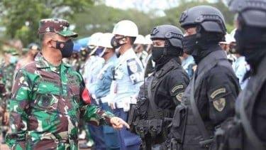 Pasukan Elite TNI Siaga Penuh Jaga Nyawa Jokowi di Aceh