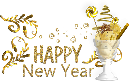 happy new year png 2018 image text download zip file pngfun com