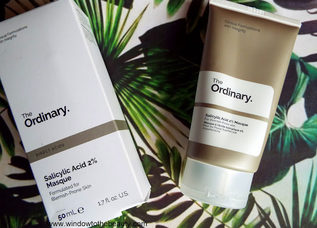 the ordinary Salicylic Acid 2% Masque opinion