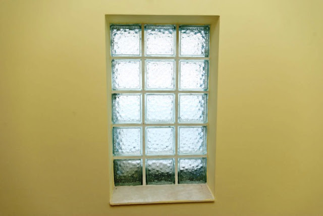 Install GLASS Block WINDOW