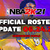 NBA 2K21 OFFICIAL ROSTER UPDATE 06.24.21 CONFERENCE FINALS UPDATE [FOR ALL VERSIONS]