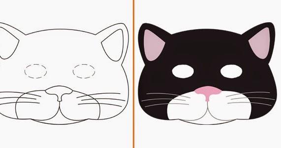 La tei latanadellecoidea creare con quel che c 39 per - Pagina colorazione maschera gatto ...