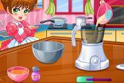 لعبة بنات طبخ الماكرون