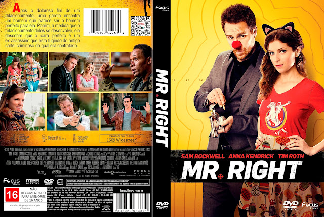 Capa DVD Mr. Right (O Cara Certo) [Exclusiva]