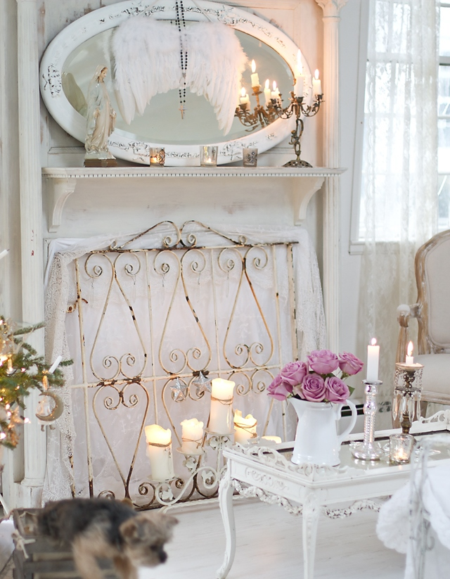 Romantic Home Decor Part - 18: This Cool Shabby Chic Style Romantic Home Decor, Cheap But Stylish - Romantic  Homes Decorating