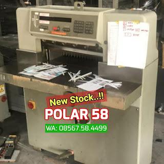 Mesin potong kertas POLAR 58 EM