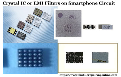 Below are common types of EMI ESD chips used in various mobile phones circuit