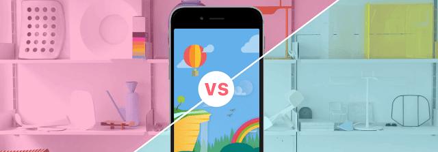 Perbedaan: Material Design vs. Flat Design