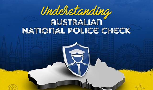 Understanding Australian National Police Check #infographic