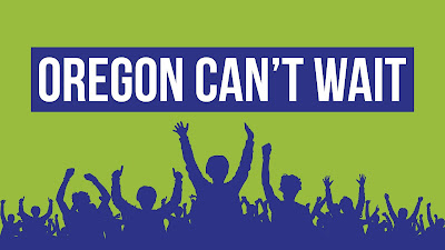 OREGON CAN'T WAIT---A Rally in Salem on June 6---Buses leaving from Eugene and Portland
