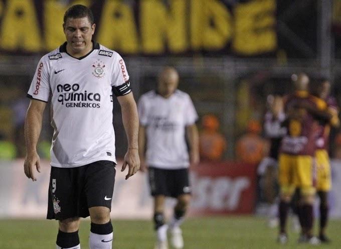 A nueve años del último juego de Ronaldo como profesional, en el césped del Murillo Toro