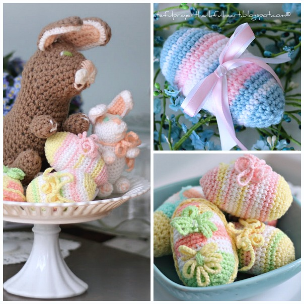 Easter Crochet Patterns For Beginners : With a Grateful Prayer and a Thankful Heart: Crochet ...