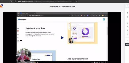 Cara Menggunakan Dropbox Capture Untuk Membuat Pesan Video-5