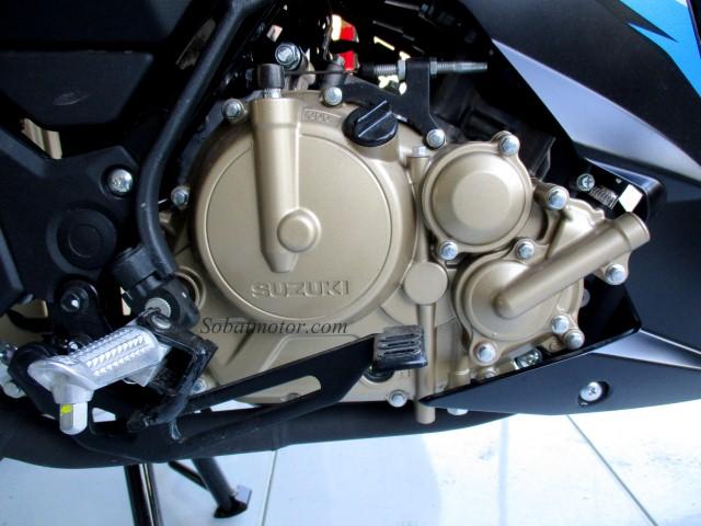Terlahir dari basic mesin yang sama, inilah beberapa perbedaan antara mesin Satria F150 Injeksi dan GSX-R150