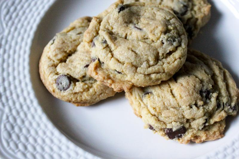 Vanilla Pudding Mix Chocolate Chip Cookies by freshfromthe.com