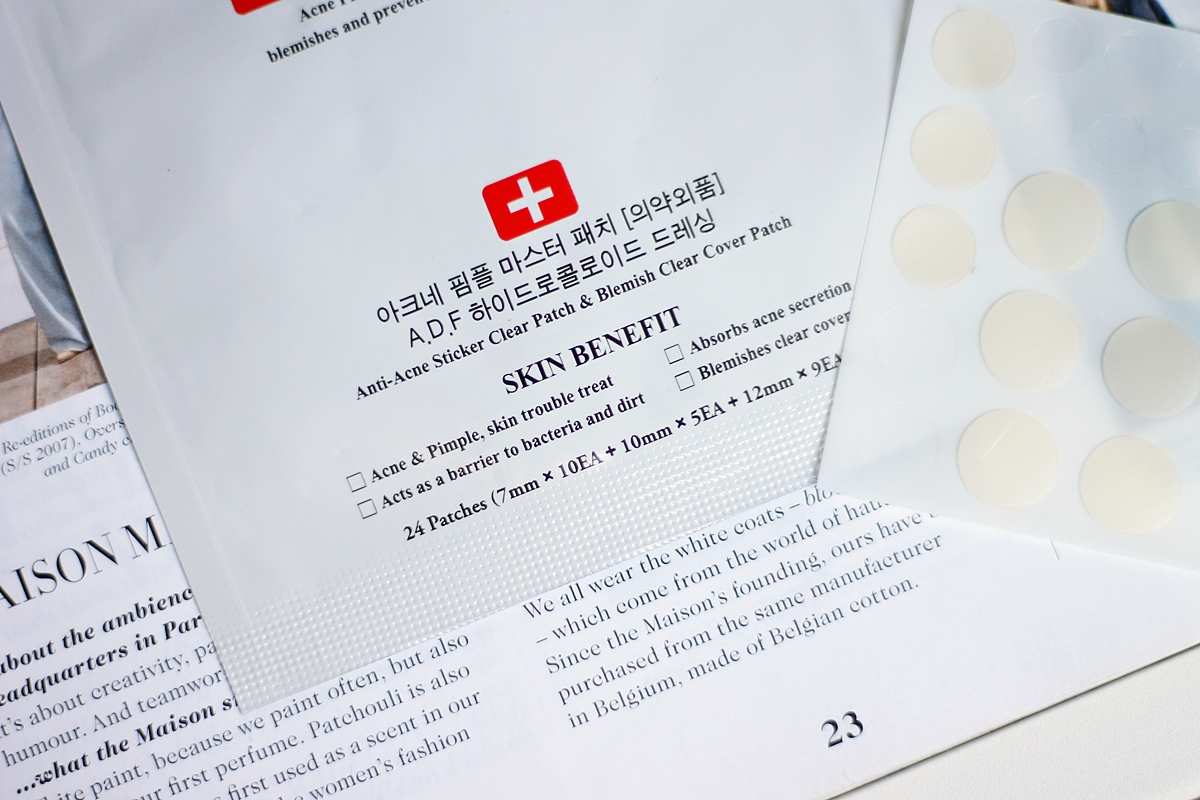cosrx acne patch recenzija