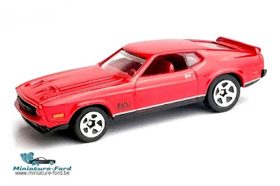 Hot Wheels, 1971 Ford Mustang Mach 1