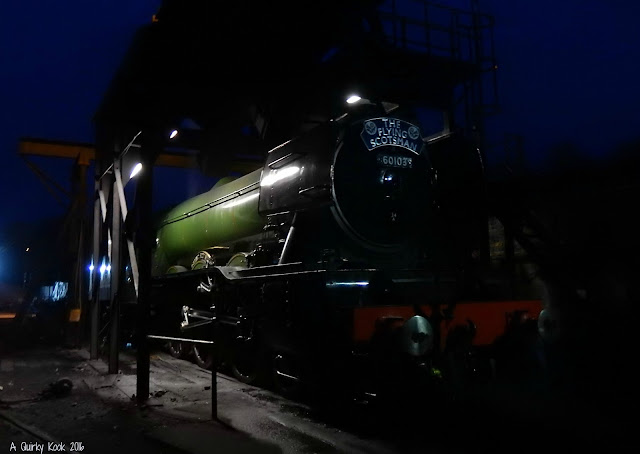 The-Flying-Scotsman-Grosmont-Station-night