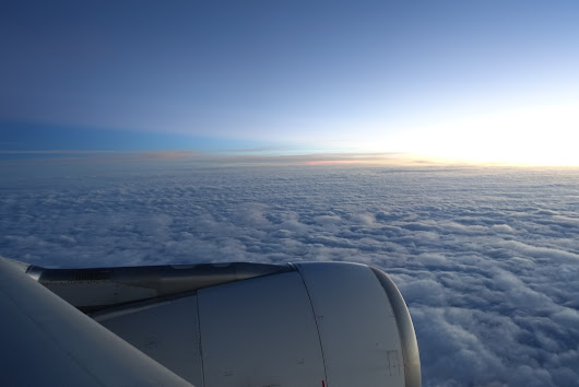 Rediscovering the beauty of flying: Back from Singapore
