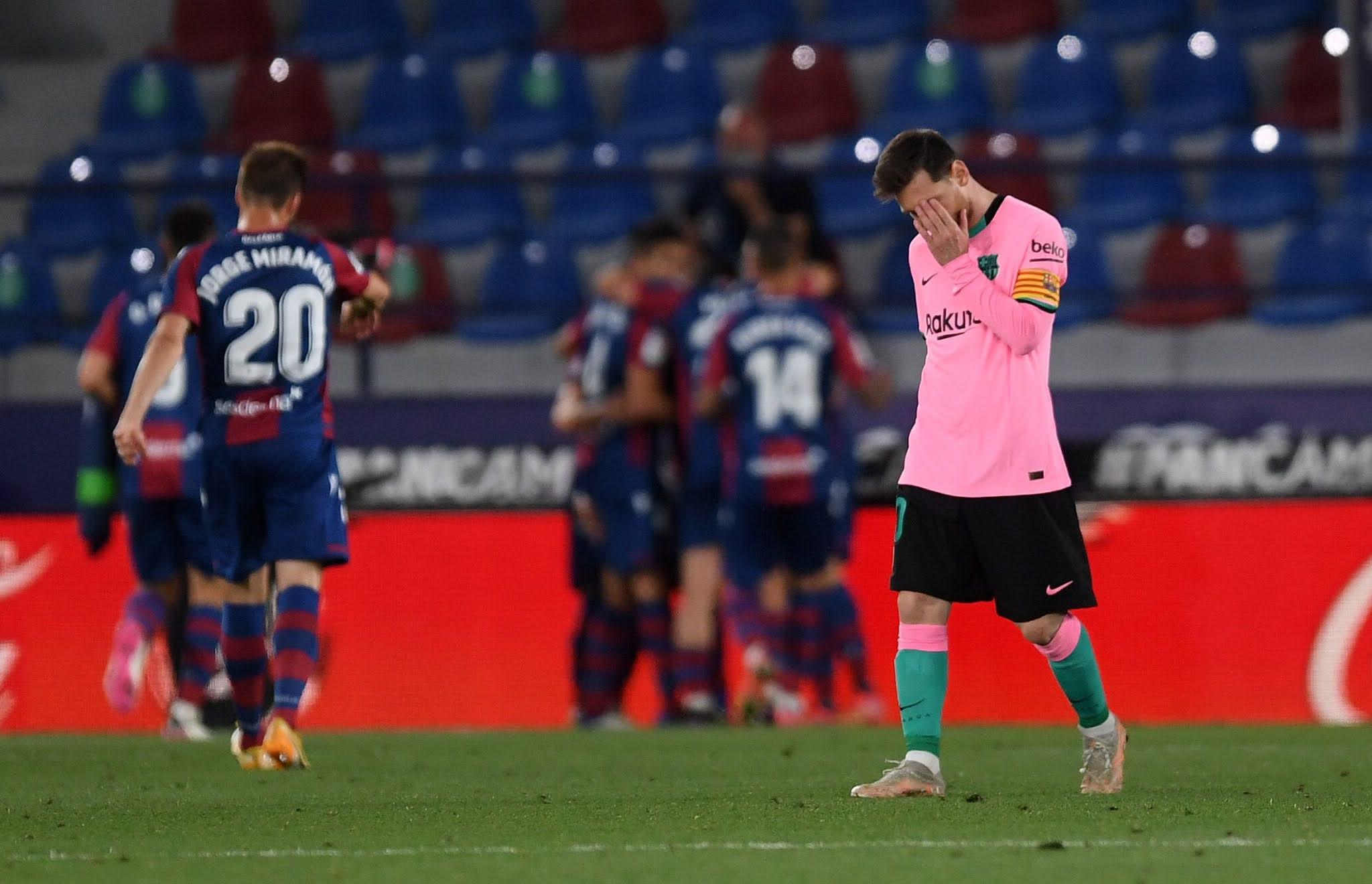 Levante 3 - Barcelona 3