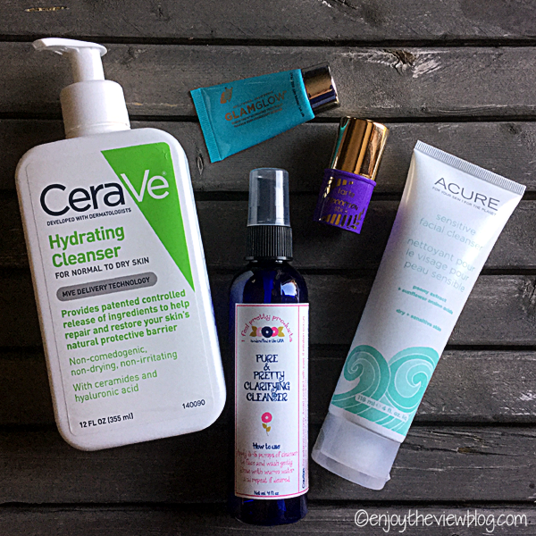 5 favorite facial cleansers