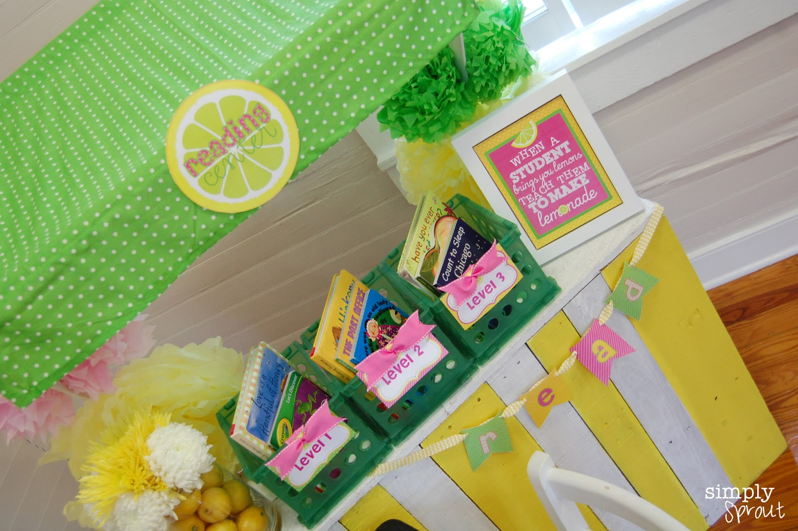 Pink Lemonade Classroom Design Kit Simply Sprout