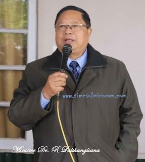 Mizoram Minister R Lalthangliana