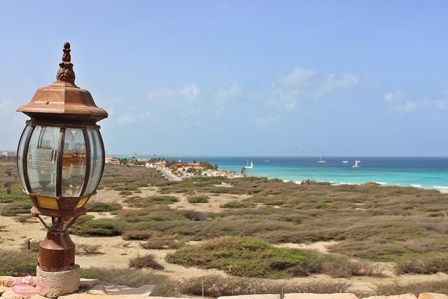 Farol Califórnia em Aruba