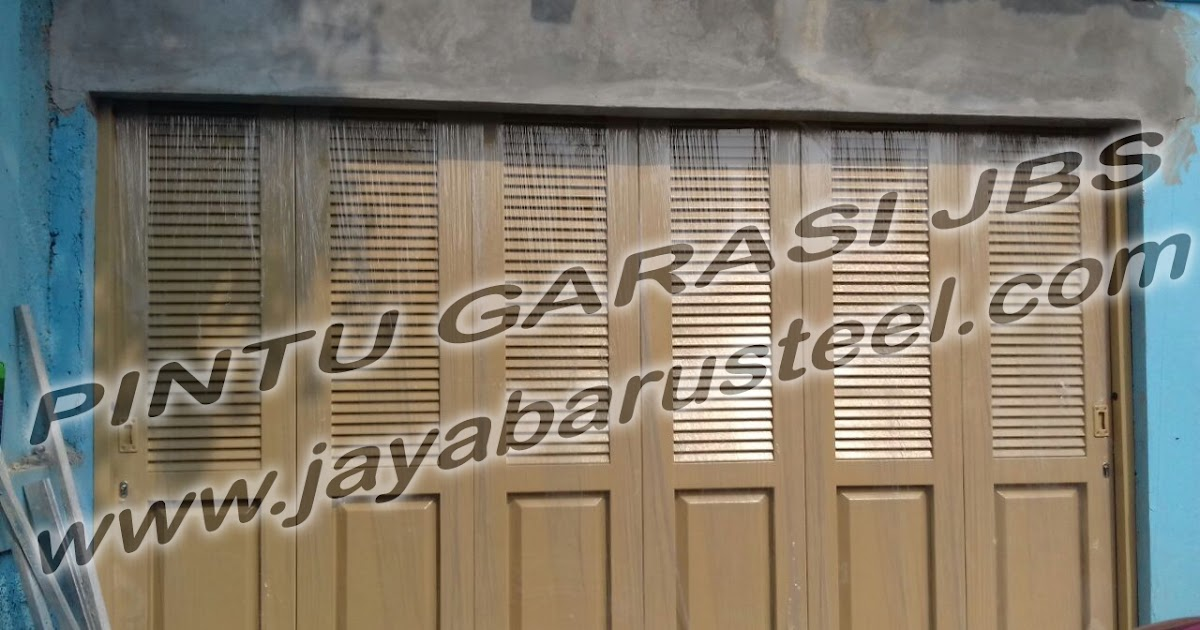 Pintu Besi Rumah Jogja, Model Pintu Garasi Besi Minimalis ...