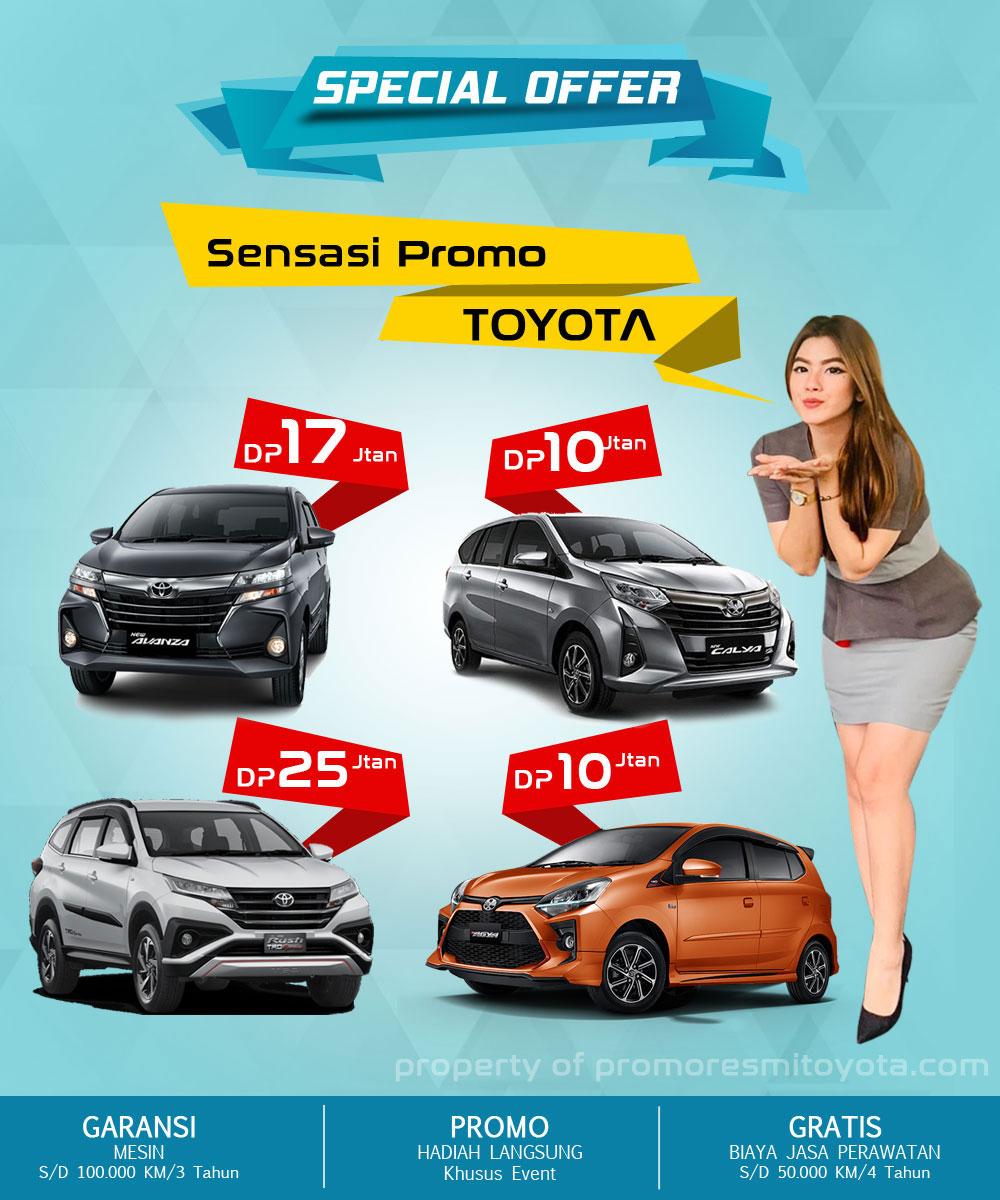 Paket Kredit Toyota Agya Calya Avanza Rush 2021 ~ Promo ...