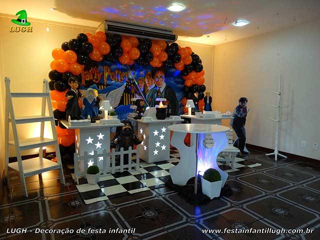 Fotos temas masculino - Mesa provençal tema Harry Potter - Decoração para festa de aniversário infantil