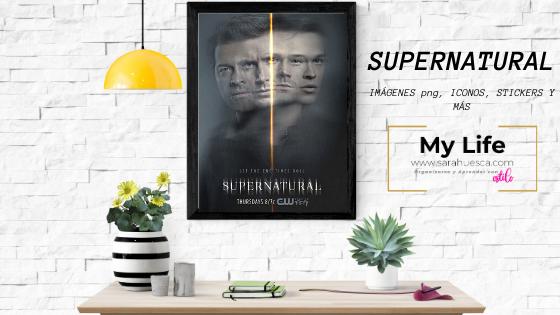 SUPERNATURAL, sobrenatural, imagenes, png, stickers, iconos