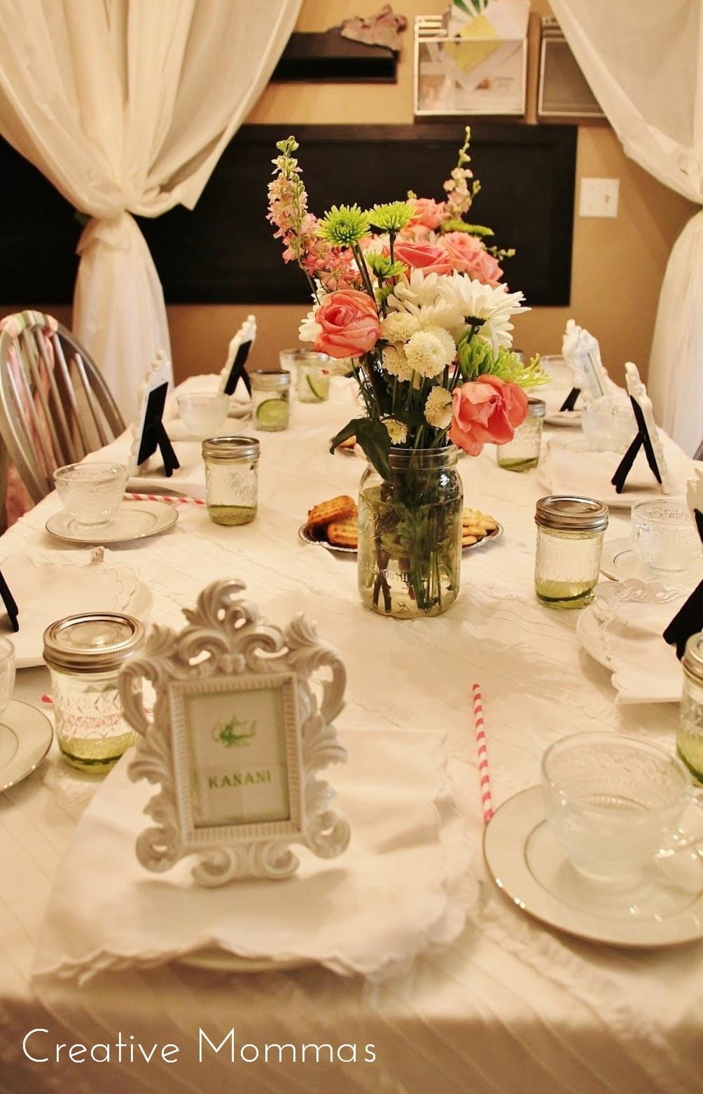 Creative Mommas: Tea Party Themed Birthday Party