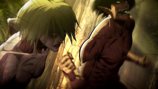 Eren vs Female Titan