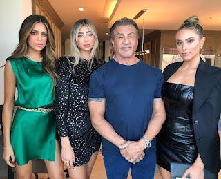 Sylvester Stallone Family Photos