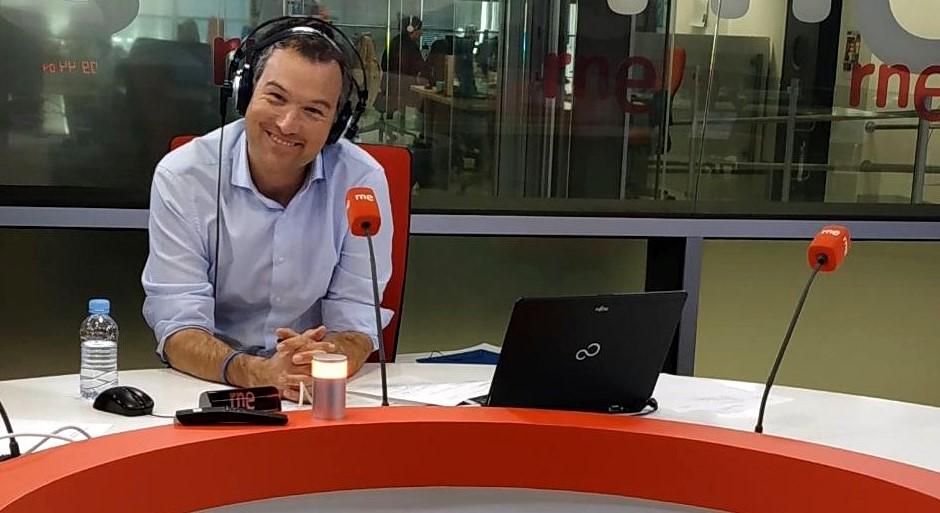 ÍÑIGO ALFONSO (RNE), PREMIO 'TEOBALDO 2021'
