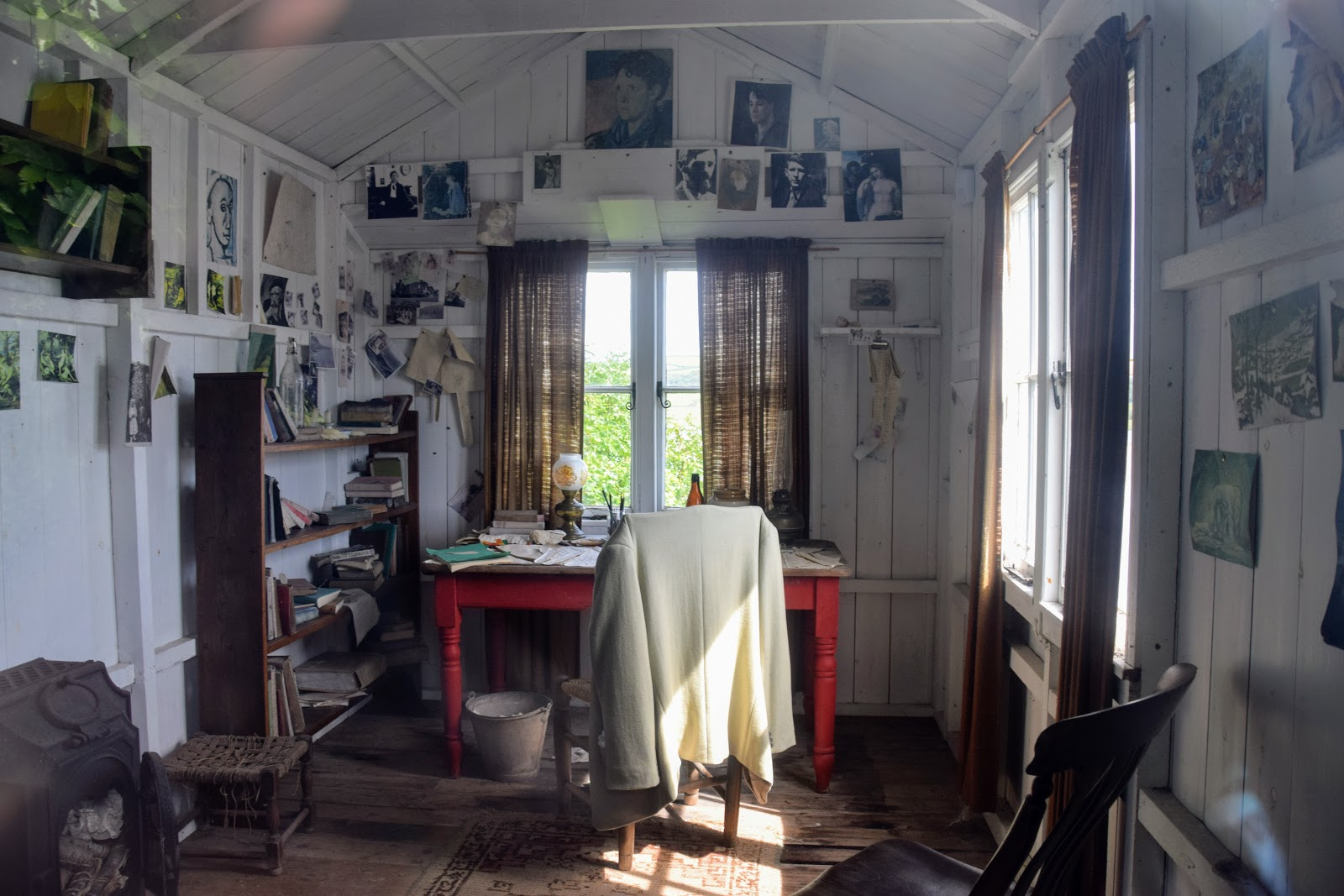 , A Visit to the Dylan Thomas Boathouse and Writing Shed, Laugharne, Carmarthenshire