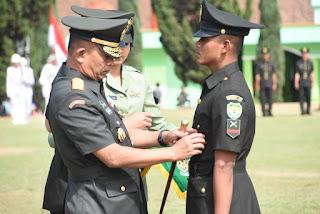 Pangdam III/Siliwangi Lantik Dan Sumpah Prajurit Siswa Dikmata TNI AD Gelombang I Ta. 2019