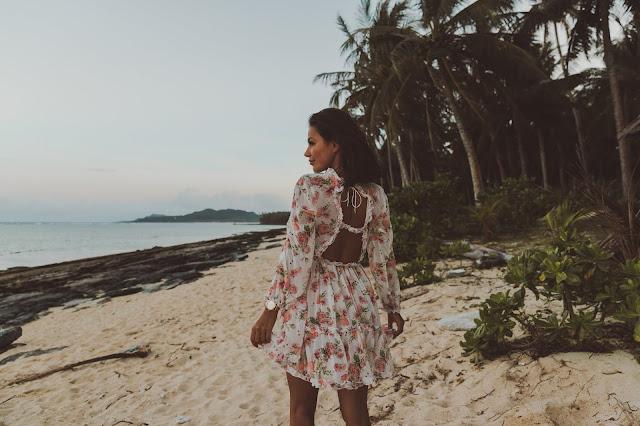 Moja pierwsza stylizacja z Filipin/ Zwiewna sukienka w kwiaty  - Czytaj więcej