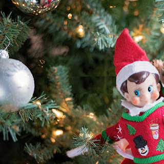 The Elf on the Shlef our autistic kids can touch