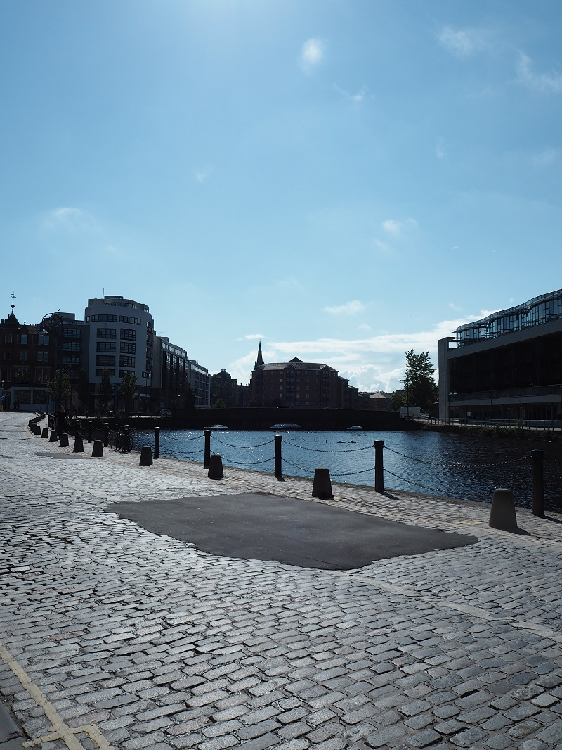 View of the Shore in Leith