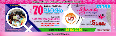 "KeralaLottery.info, ""kerala lottery result 25.02.2020 sthree sakthi ss 198"" 25th February 2020 result, kerala lottery, kl result,  yesterday lottery results, lotteries results, keralalotteries, kerala lottery, keralalotteryresult, kerala lottery result, kerala lottery result live, kerala lottery today, kerala lottery result today, kerala lottery results today, today kerala lottery result, 25 2 2020, 25.2.2020, kerala lottery result 25-2-2020, sthree sakthi lottery results, kerala lottery result today sthree sakthi, sthree sakthi lottery result, kerala lottery result sthree sakthi today, kerala lottery sthree sakthi today result, sthree sakthi kerala lottery result, sthree sakthi lottery ss 198 results 25-02-2020, sthree sakthi lottery ss 198, live sthree sakthi lottery ss-198, sthree sakthi lottery, 25/2/2020 kerala lottery today result sthree sakthi, 25/02/2020 sthree sakthi lottery ss-198, today sthree sakthi lottery result, sthree sakthi lottery today result, sthree sakthi lottery results today, today kerala lottery result sthree sakthi, kerala lottery results today sthree sakthi, sthree sakthi lottery today, today lottery result sthree sakthi, sthree sakthi lottery result today, kerala lottery result live, kerala lottery bumper result, kerala lottery result yesterday, kerala lottery result today, kerala online lottery results, kerala lottery draw, kerala lottery results, kerala state lottery today, kerala lottare, kerala lottery result, lottery today, kerala lottery today draw result,"