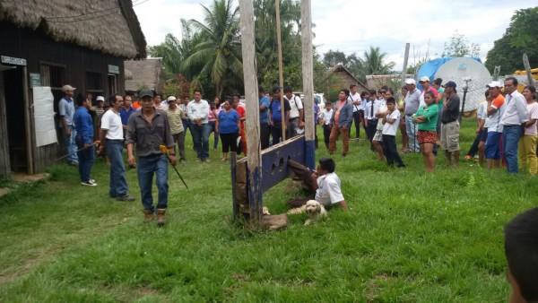 Justicia comunitaria: Castigan al alcalde masista de San Buenaventura por mentiroso