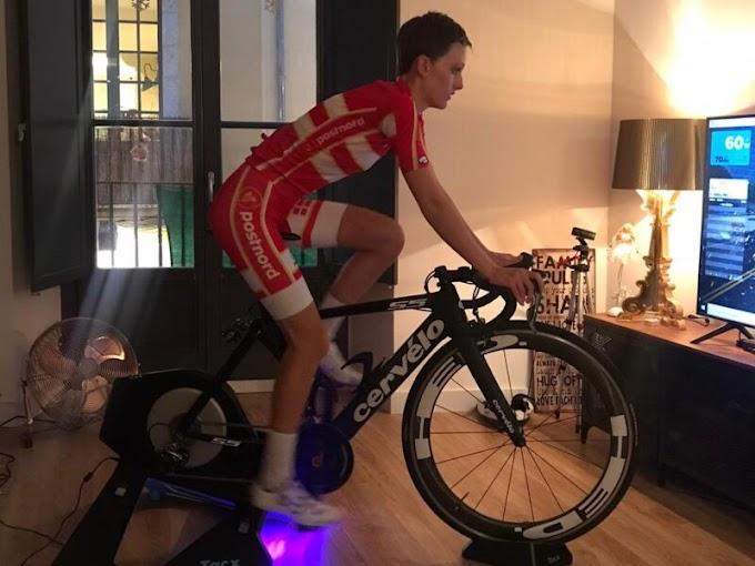 La corredora danesa Fie Østerby remató 16ª en el Mundial de eSports de la UCI