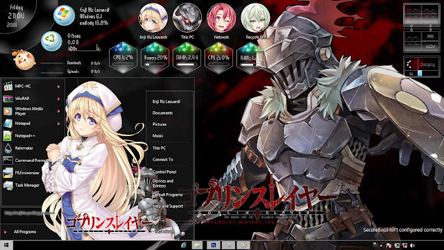 Windows 8/8.1 Theme Goblin Slayer by Enji Riz Lazuardi
