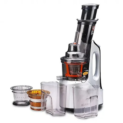 AGARO - 33293 Imperial Slow Juicer with Cold Press Technology | Best Slow Juicers in India 2021 | Best Cold Press Juicers Reviews