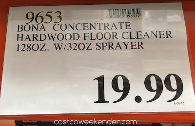 Deal for the Bona Hardwood Floor Cleaner Concentrate at Costco