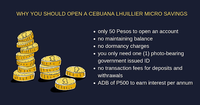 Cebuana Lhuillier Micro Savings