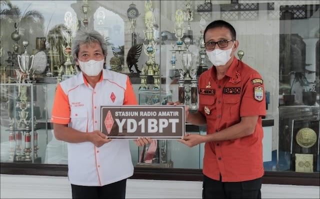 Callsign YD1BPT untuk Bupati Ciamis, Hanya Satu di Dunia