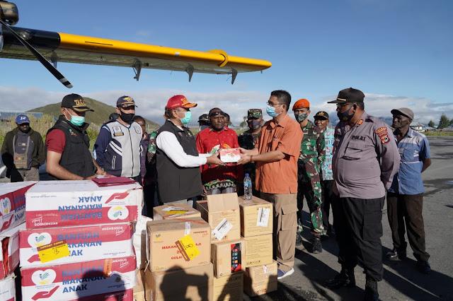 Mensos Pastikan Kebutuhan Makanan Dan Logistik Korban Banjir Paniai Terpenuhi